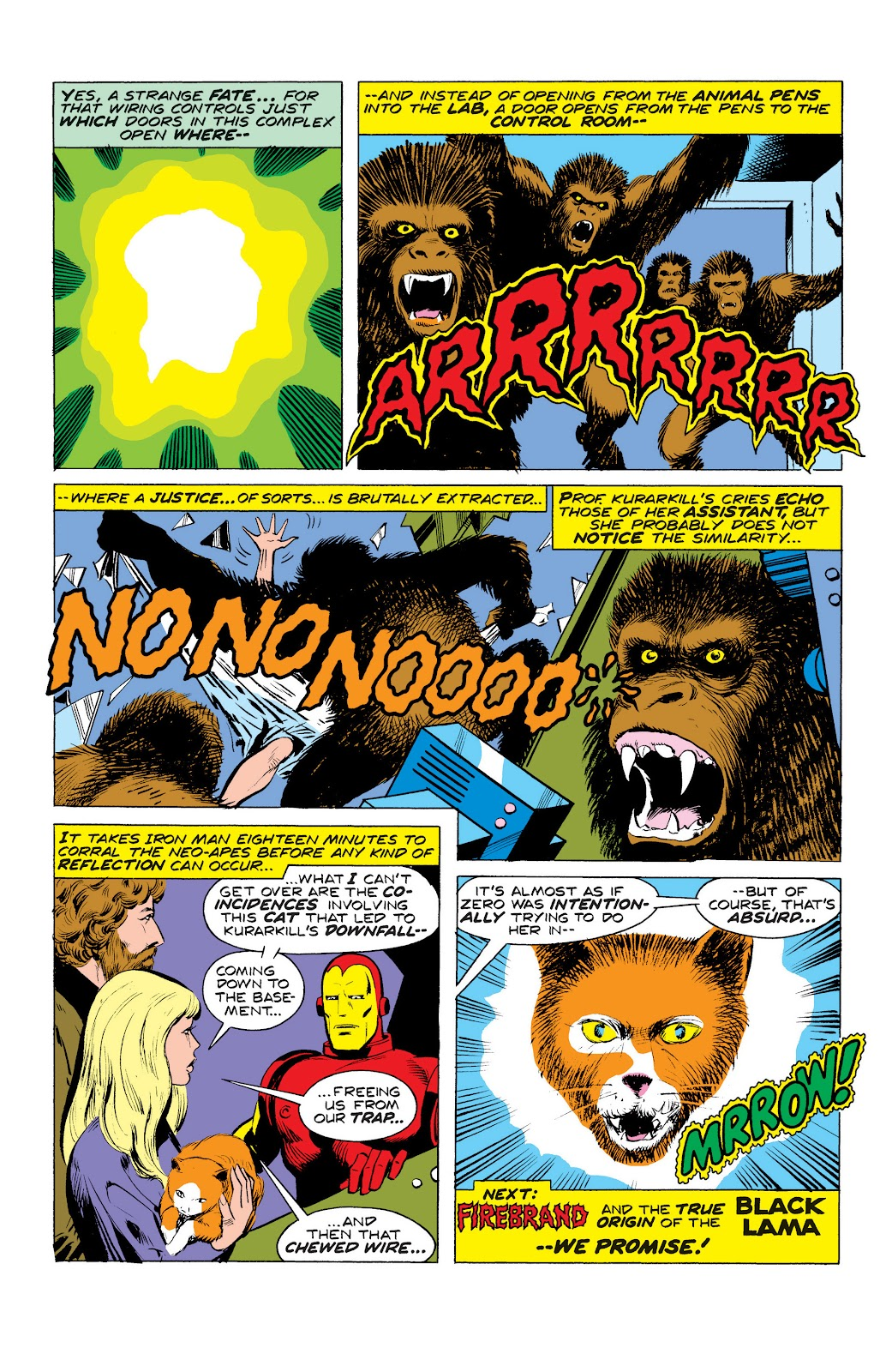 Read online Marvel Masterworks: The Invincible Iron Man comic -  Issue # TPB 10 (Part 3) - 12