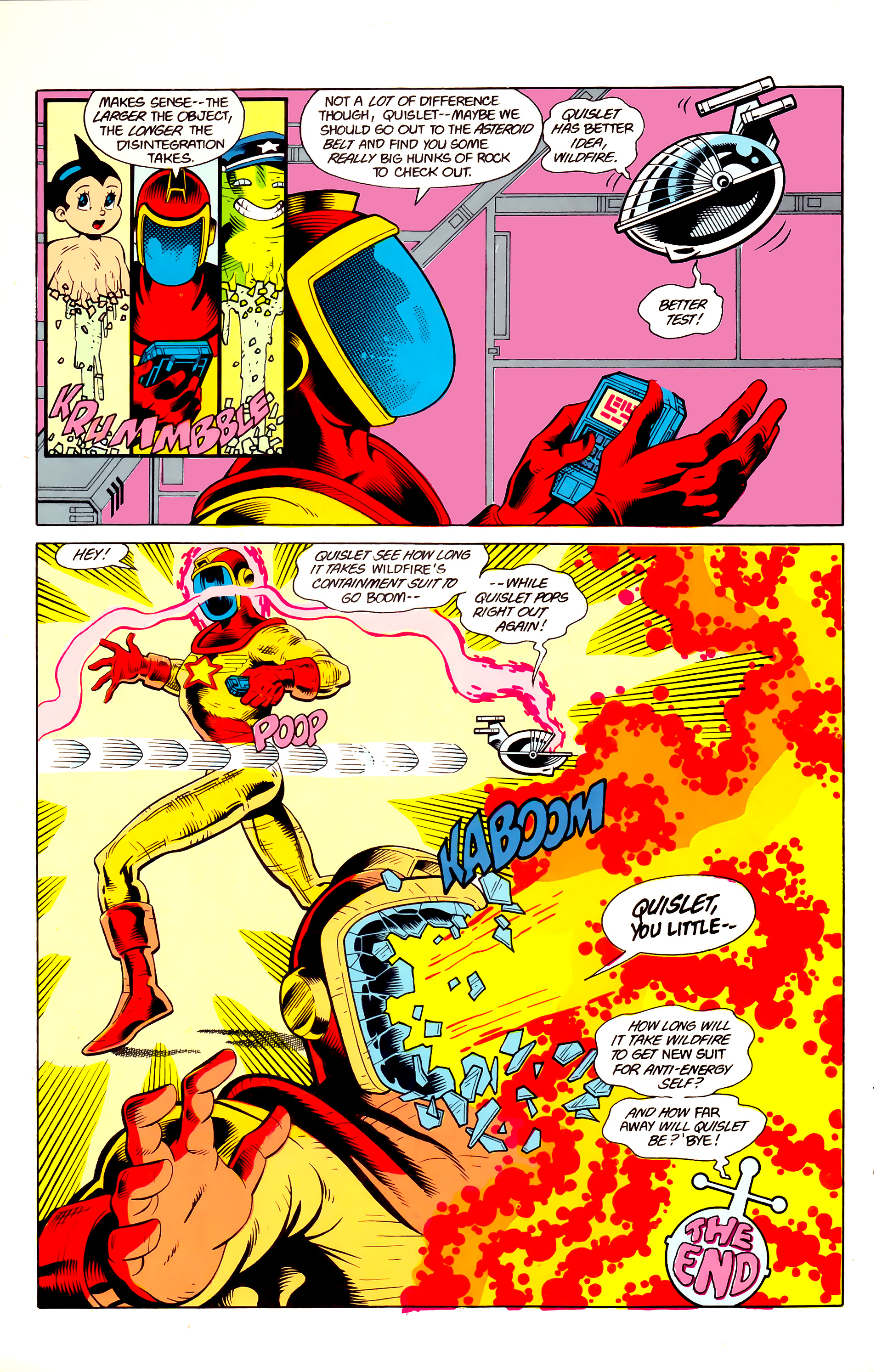 Legion of Super-Heroes (1984) 21 Page 31