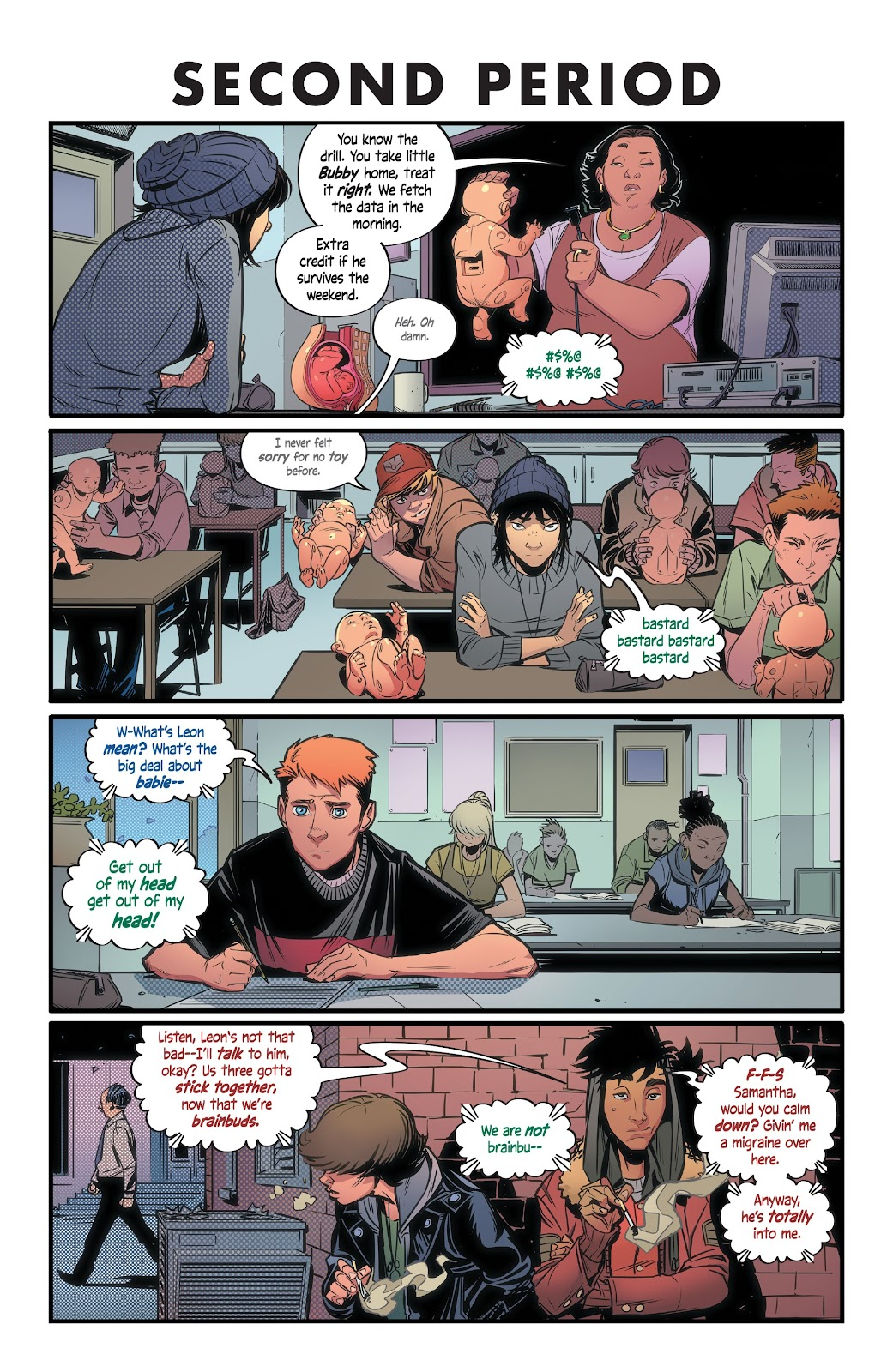 Read online Alienated comic -  Issue #1 - 14
