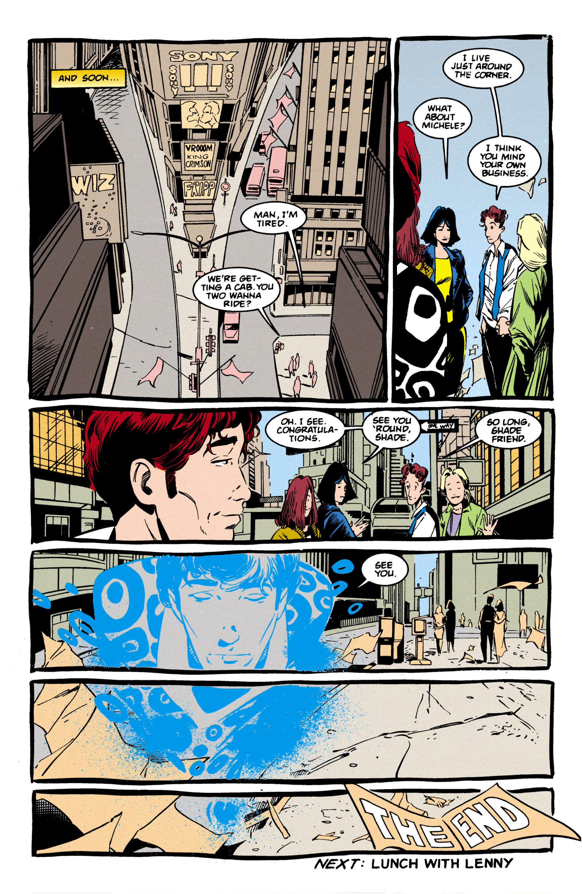Read online Shade, the Changing Man comic -  Issue #57 - 25