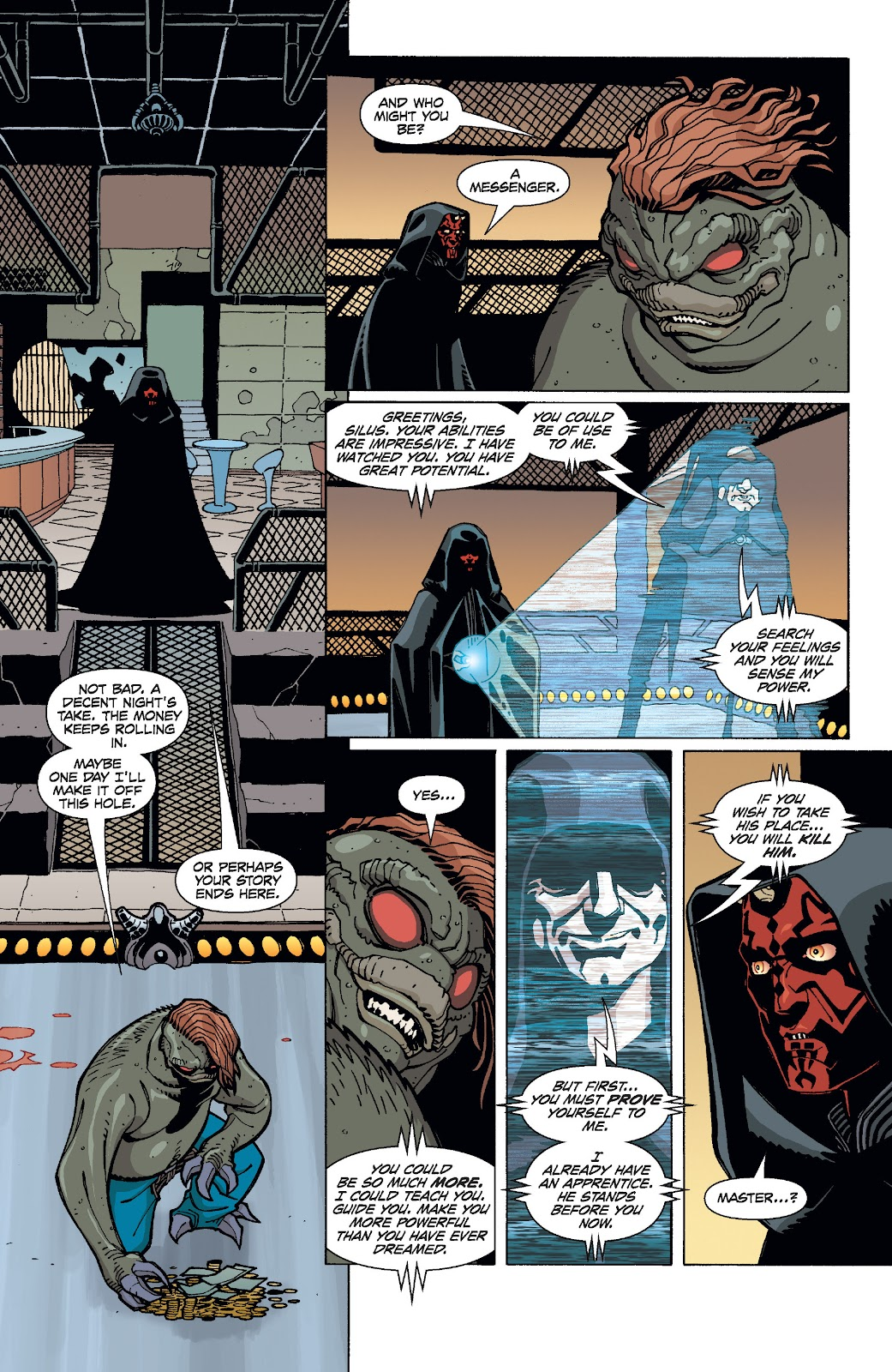 Read online Star Wars Legends: Rise of the Sith - Epic Collection comic -  Issue # TPB 1 (Part 4) - 61