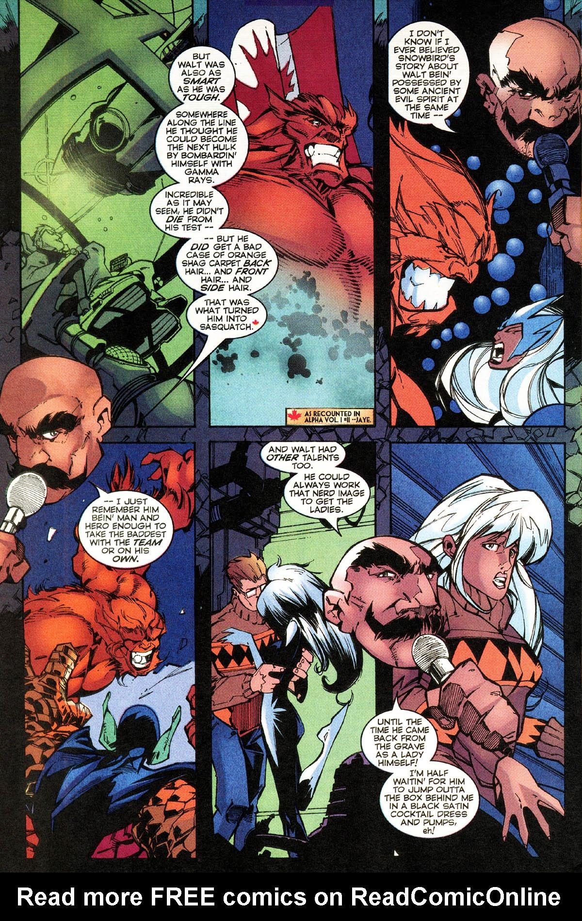 Read online Alpha Flight (1997) comic -  Issue #14 - 24