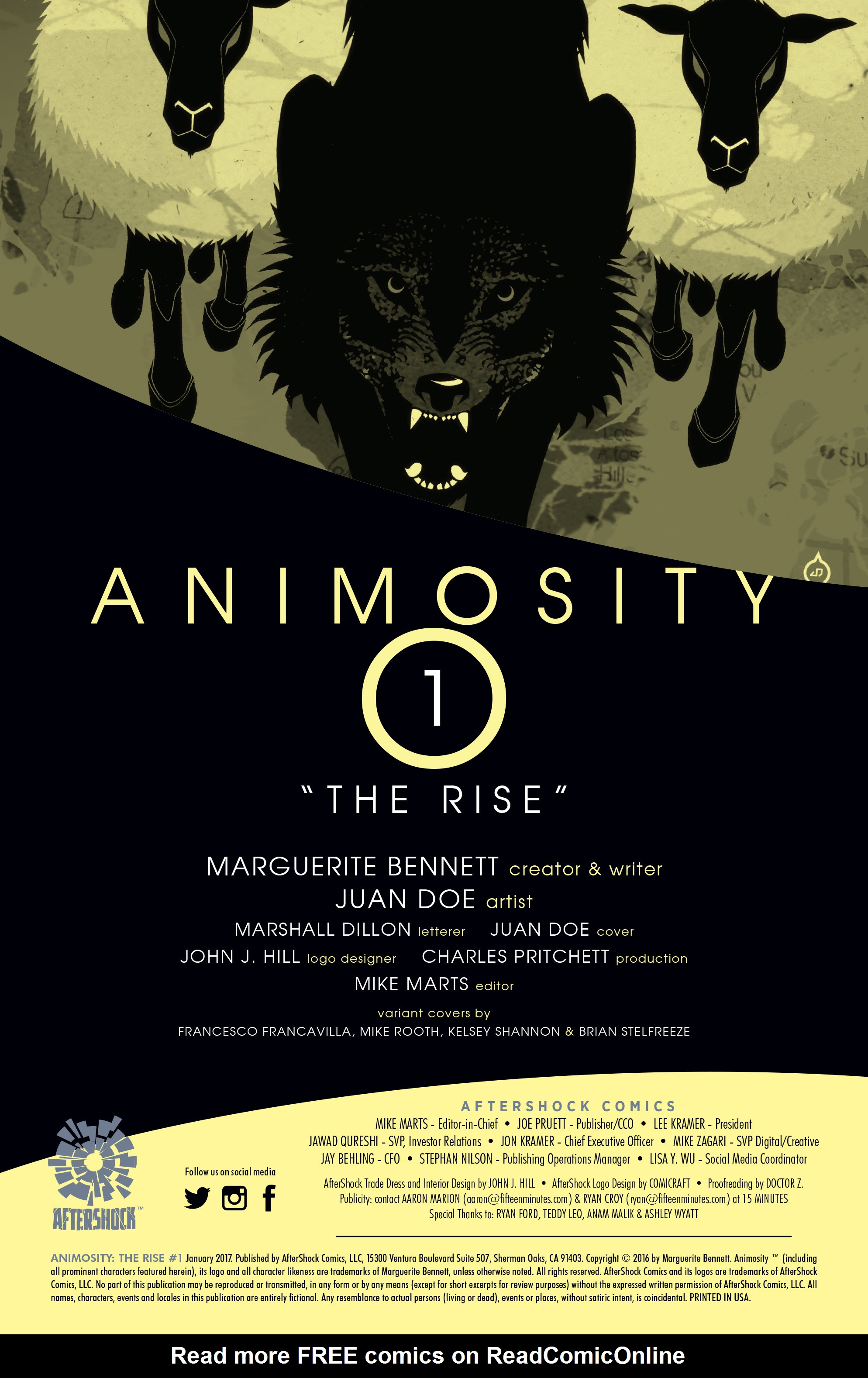Read online Animosity: The Rise comic -  Issue #Animosity: The Rise Full - 2