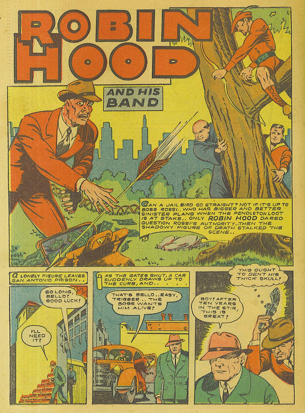 Green Hornet Comics issue 10 - Page 21