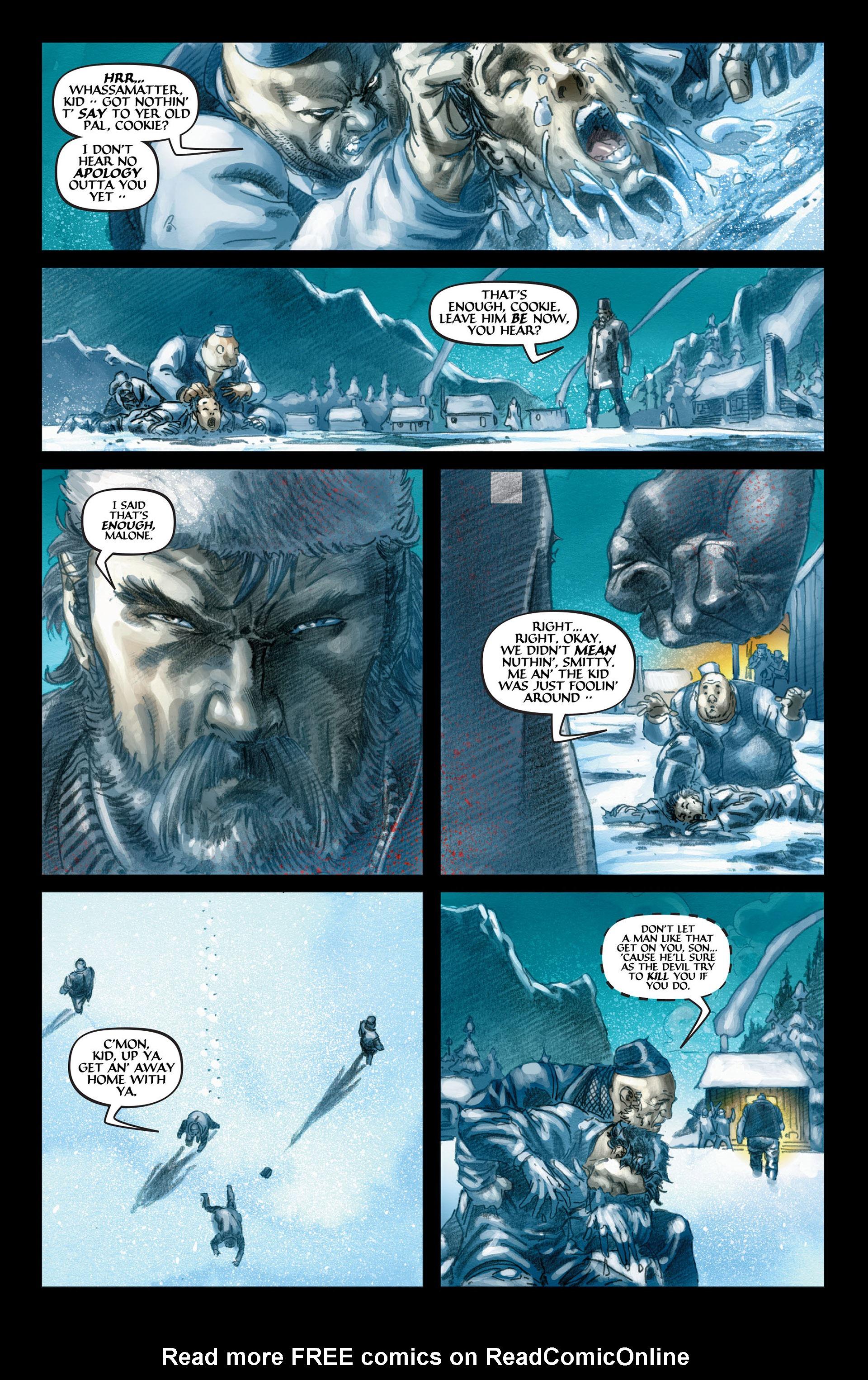 Read online Wolverine: The Origin comic -  Issue #4 - 12