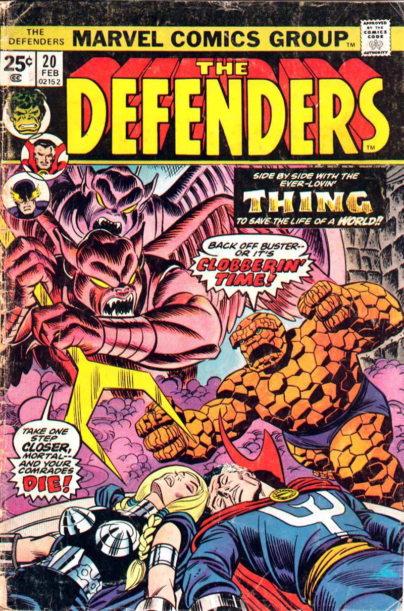 The Defenders (1972) 20 Page 1