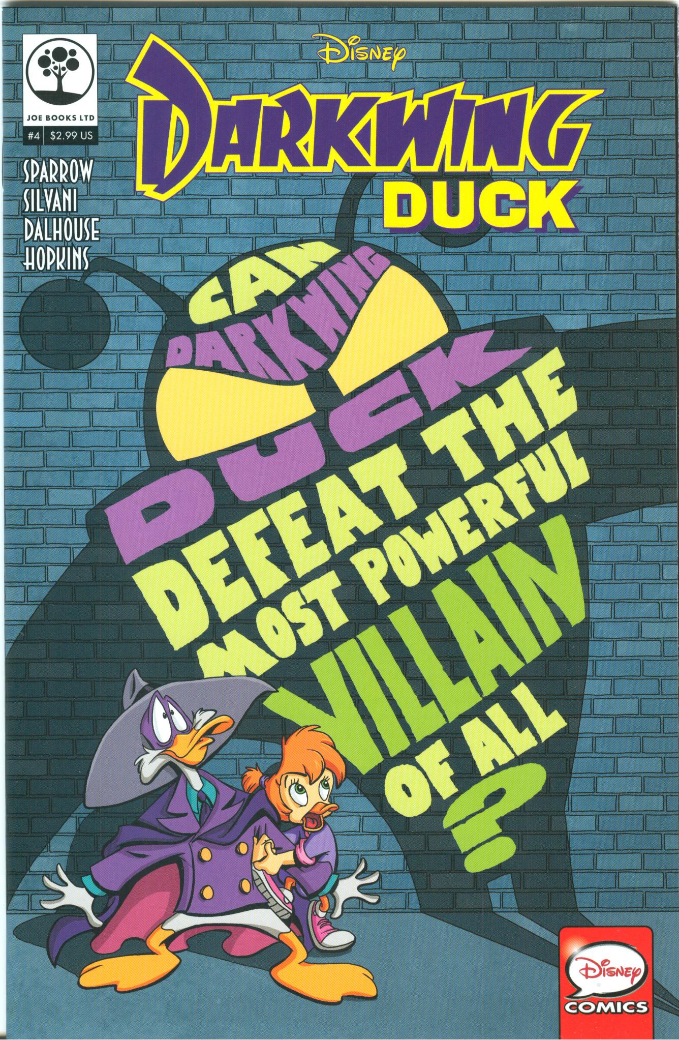 Disney Darkwing Duck 4 Page 1