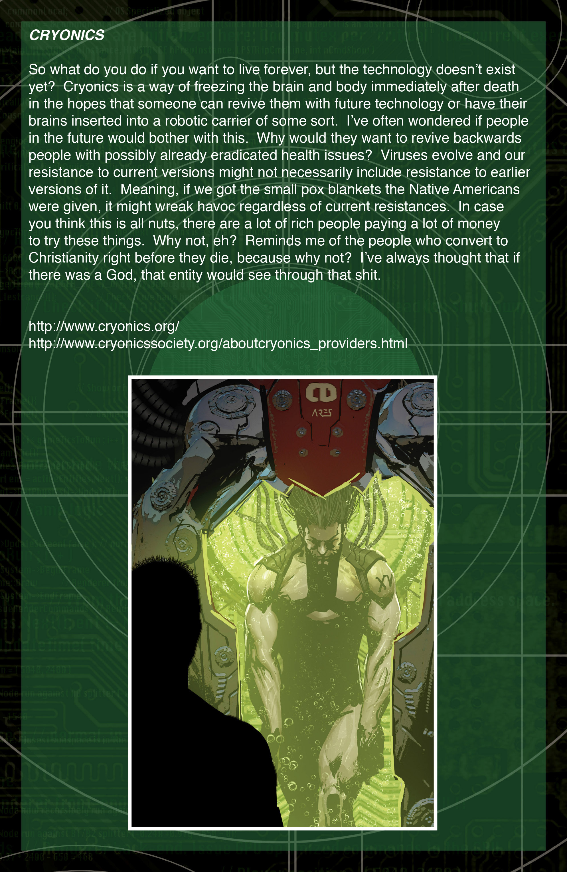 Read online IXth Generation Hidden Files comic -  Issue #1 - 19