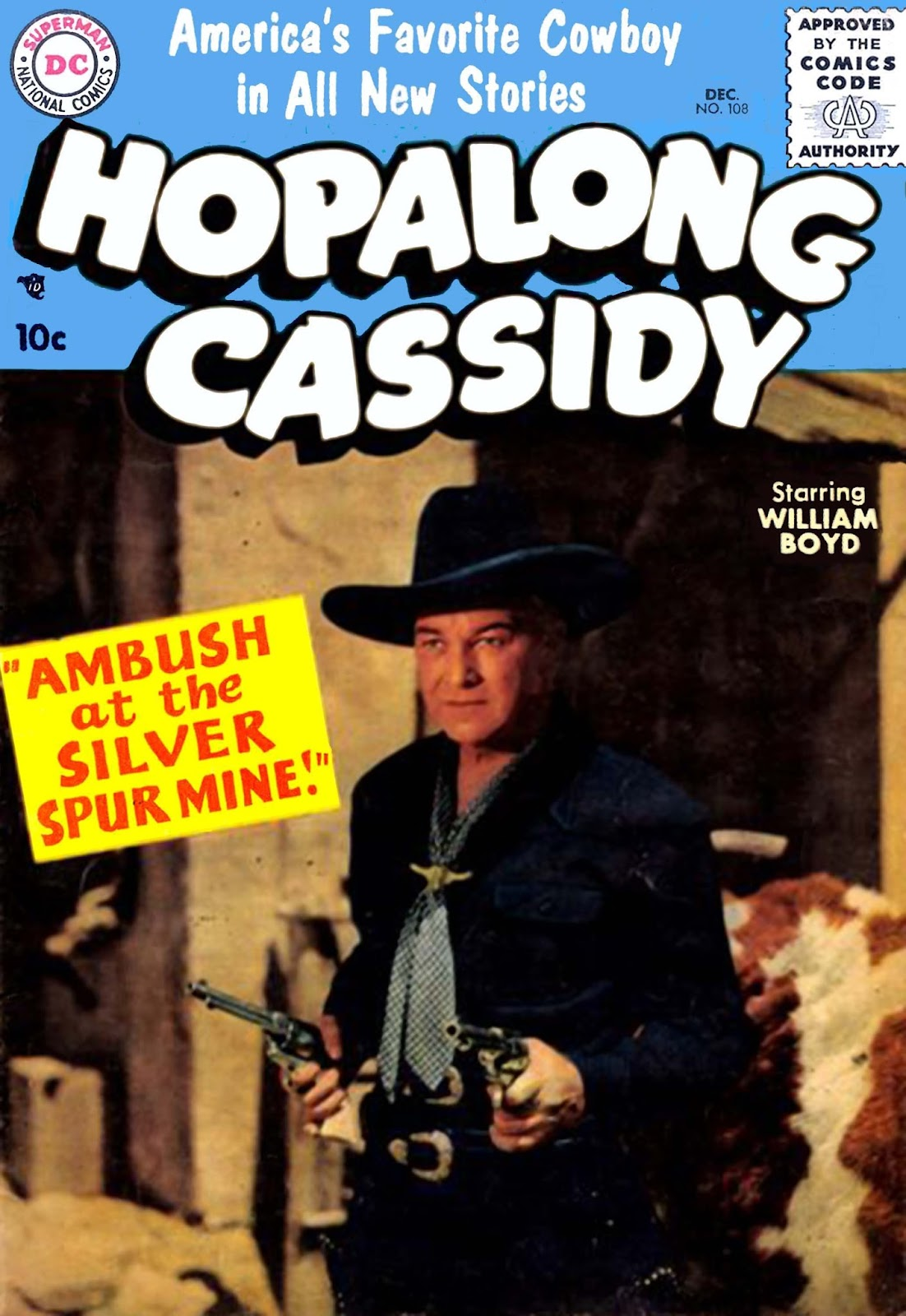 Hopalong Cassidy issue 108 - Page 1