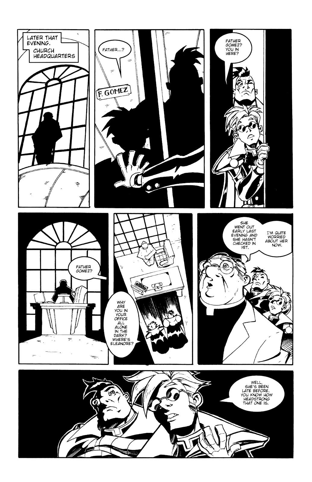 Warrior Nun Areala:  Dangerous Game Issue #2 #2 - English 8