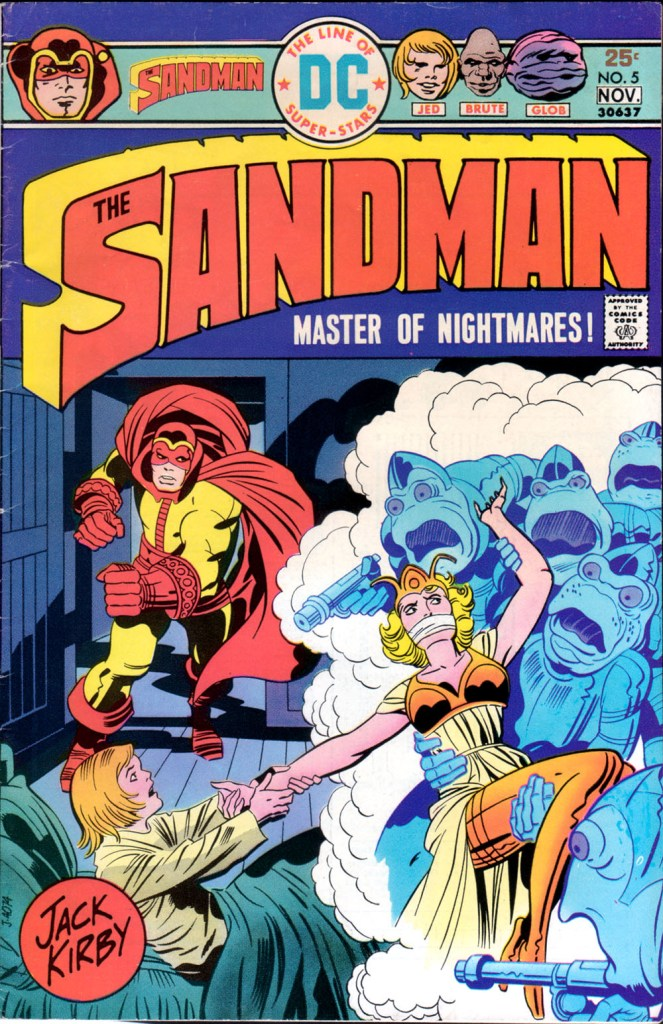 The Sandman (1974) issue 5 - Page 1