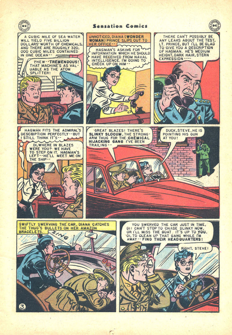 Read online Sensation (Mystery) Comics comic -  Issue #68 - 5