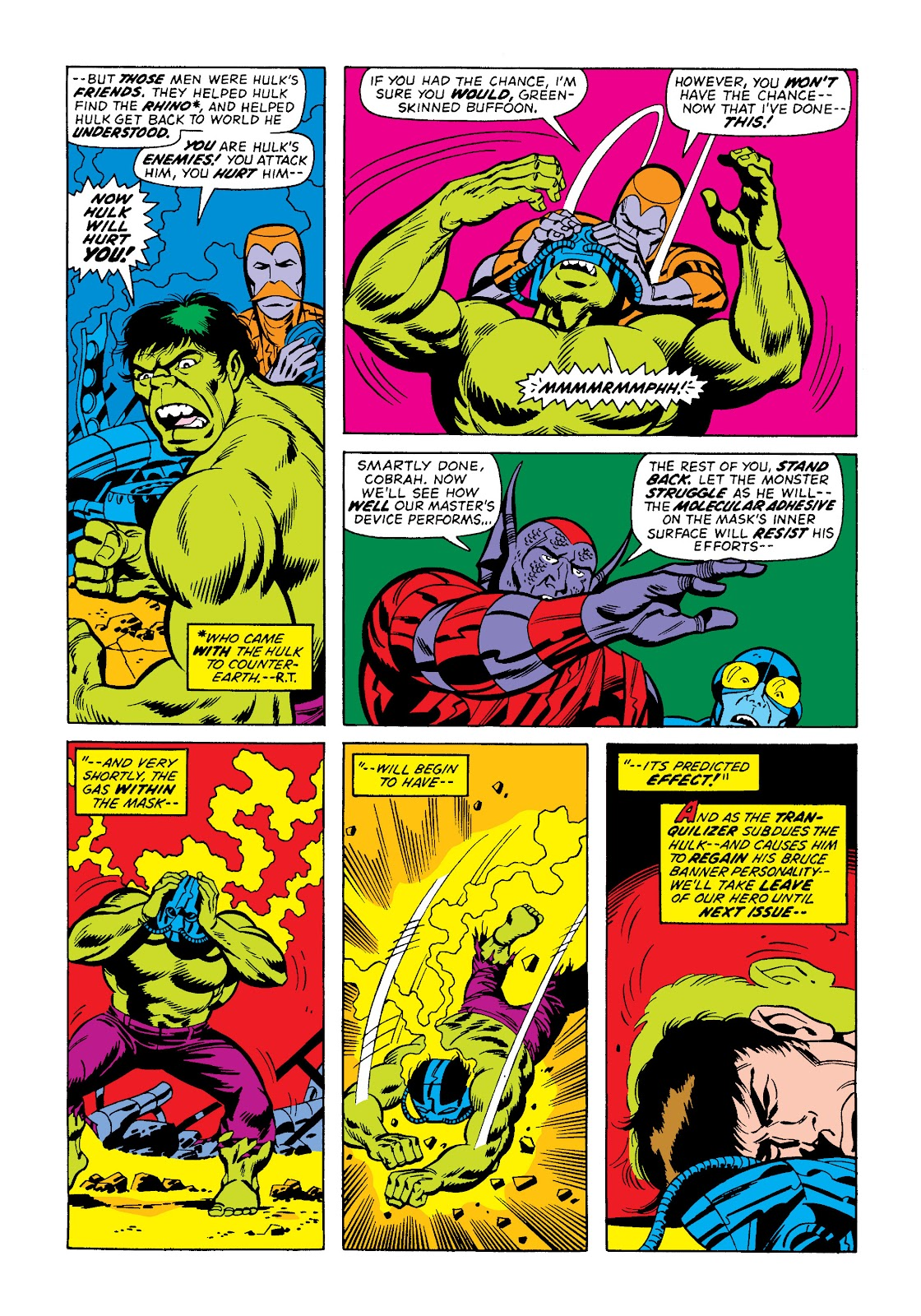 Read online Marvel Masterworks: The Incredible Hulk comic -  Issue # TPB 10 (Part 2) - 25