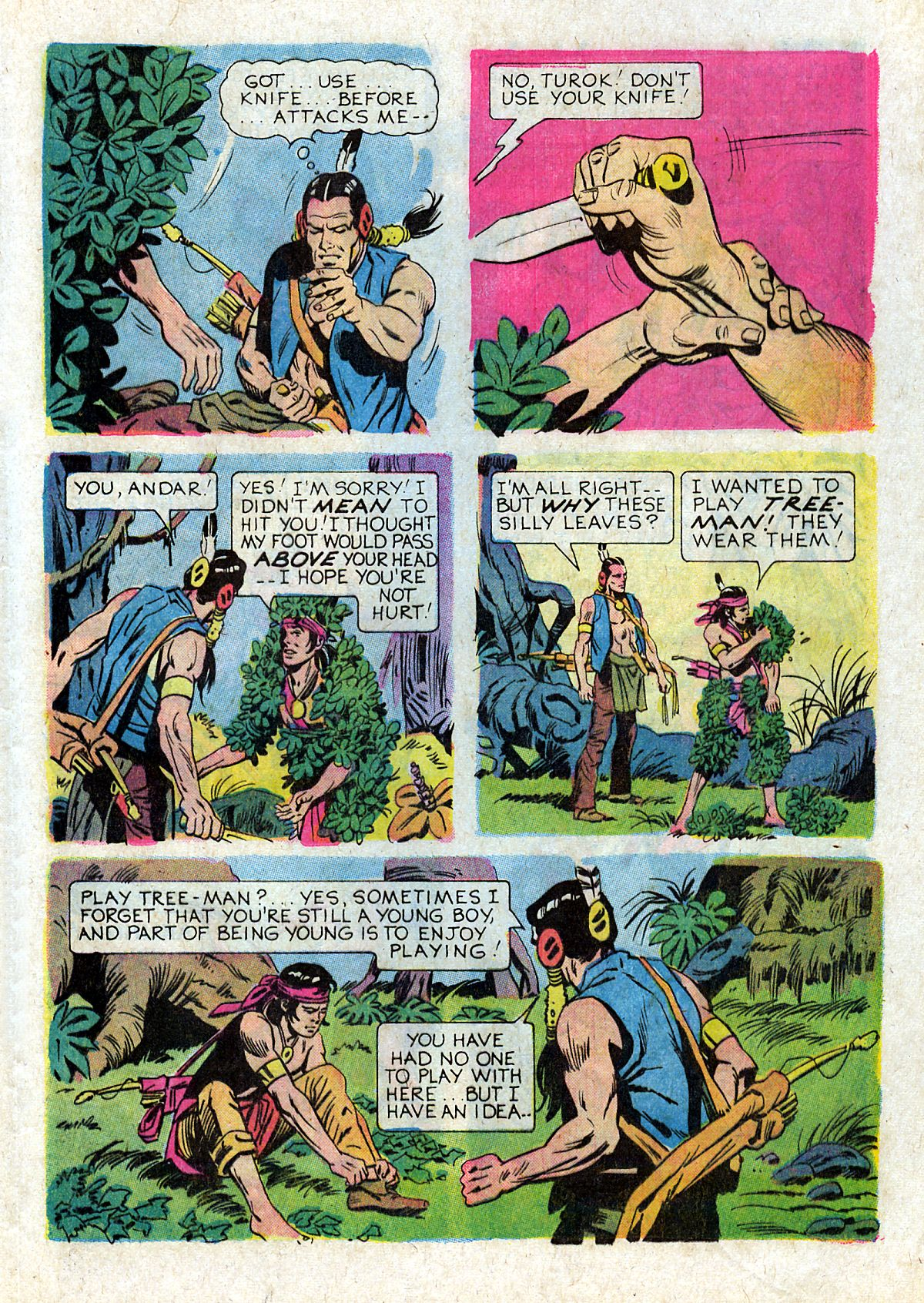 Read online Turok, Son of Stone comic -  Issue #93 - 21