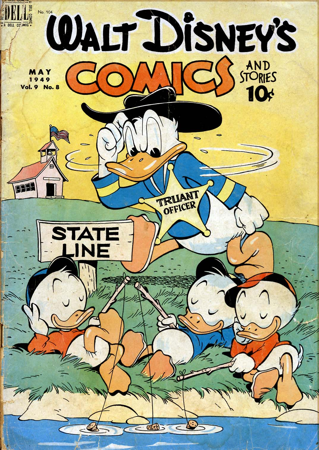 Walt Disney's Comics and Stories issue 104 - Page 1