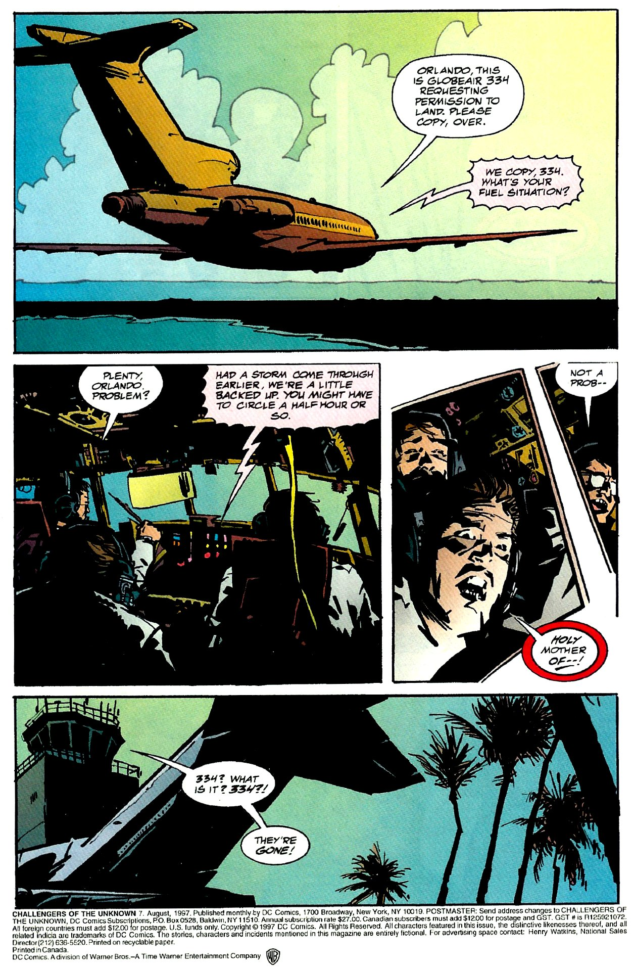 Challengers of the Unknown (1997) 7 Page 2