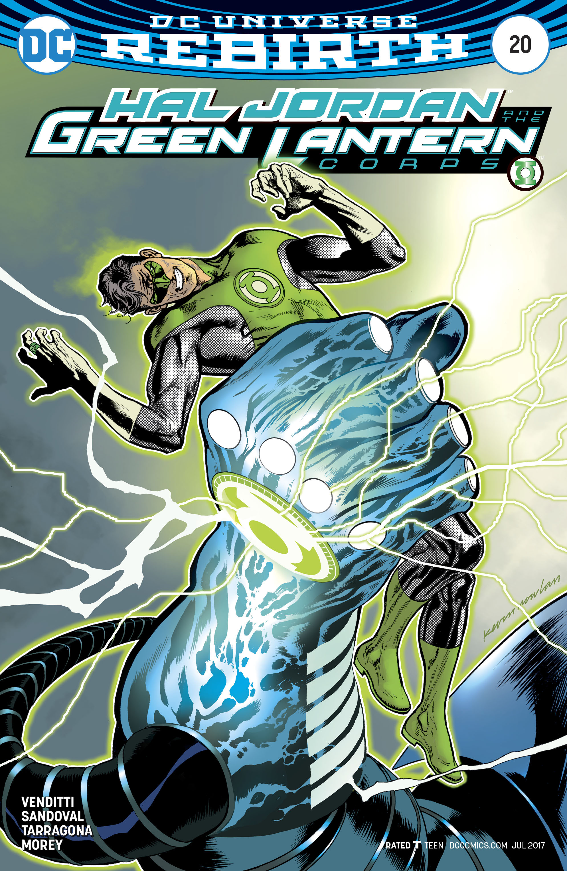 Read online Hal Jordan And The Green Lantern Corps comic -  Issue #20 - 3