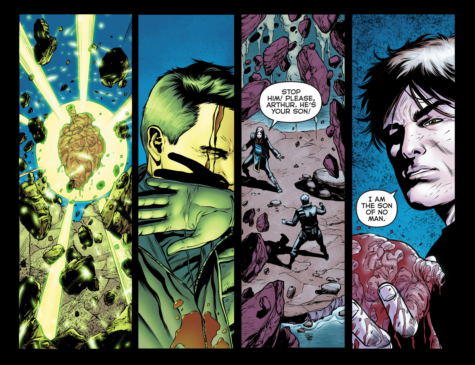 Read online Arrow: The Dark Archer comic -  Issue #12 - 10