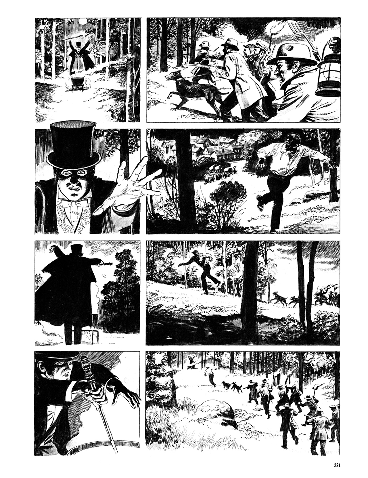 Read online Eerie Archives comic -  Issue # TPB 10 - 222