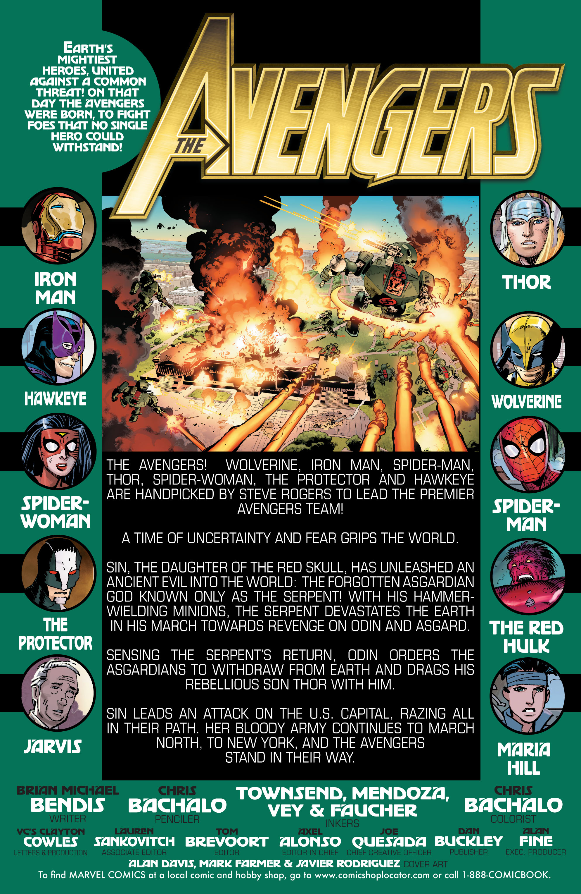 Read online Avengers (2010) comic -  Issue #13 - 2