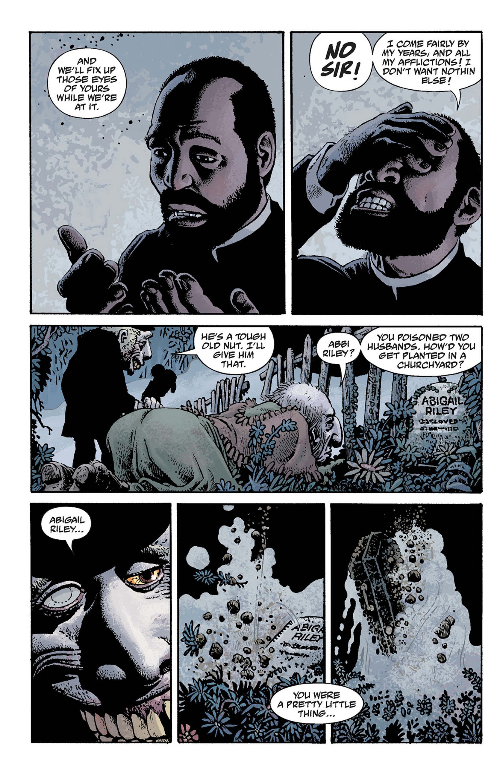 Read online Hellboy: The Crooked Man and Others comic -  Issue # TPB - 64