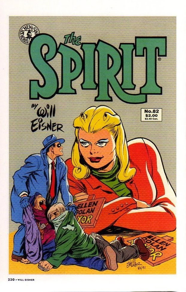 Read online Will Eisner's The Spirit Archives comic -  Issue # TPB 26 (Part 3) - 37