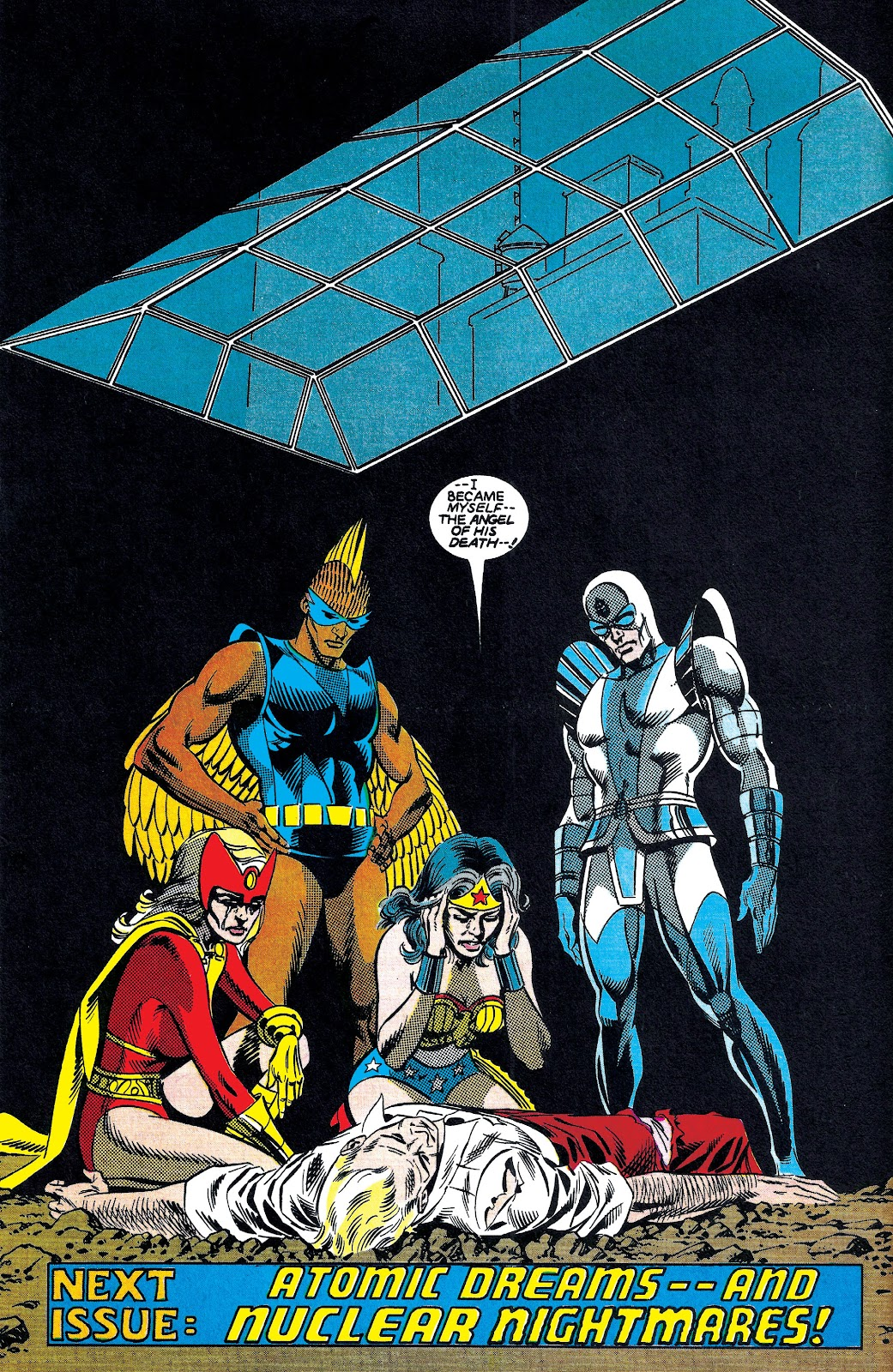 Infinity Inc. (1984) issue 7 - Page 21