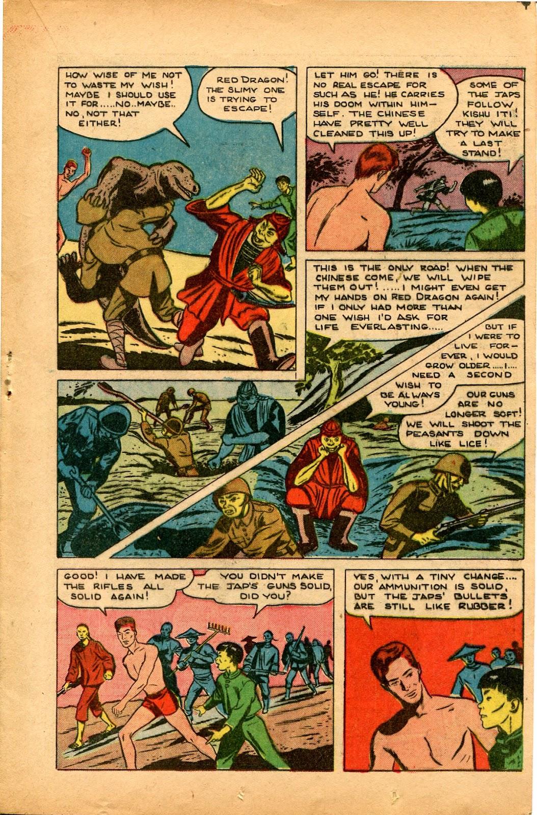 Read online Super-Magician Comics comic -  Issue #33 - 23
