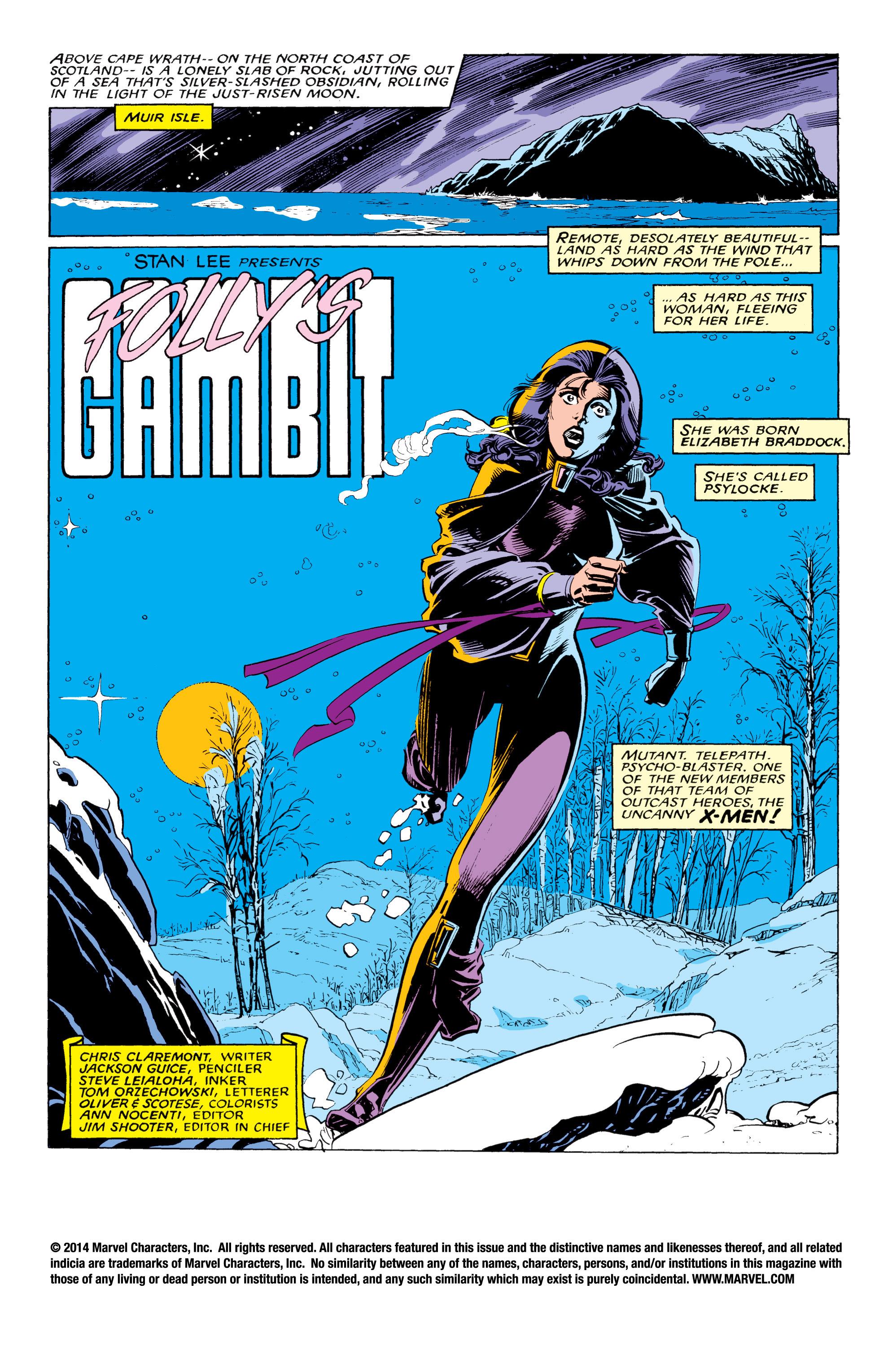 Read online Uncanny X-Men (1963) comic -  Issue #217 - 2