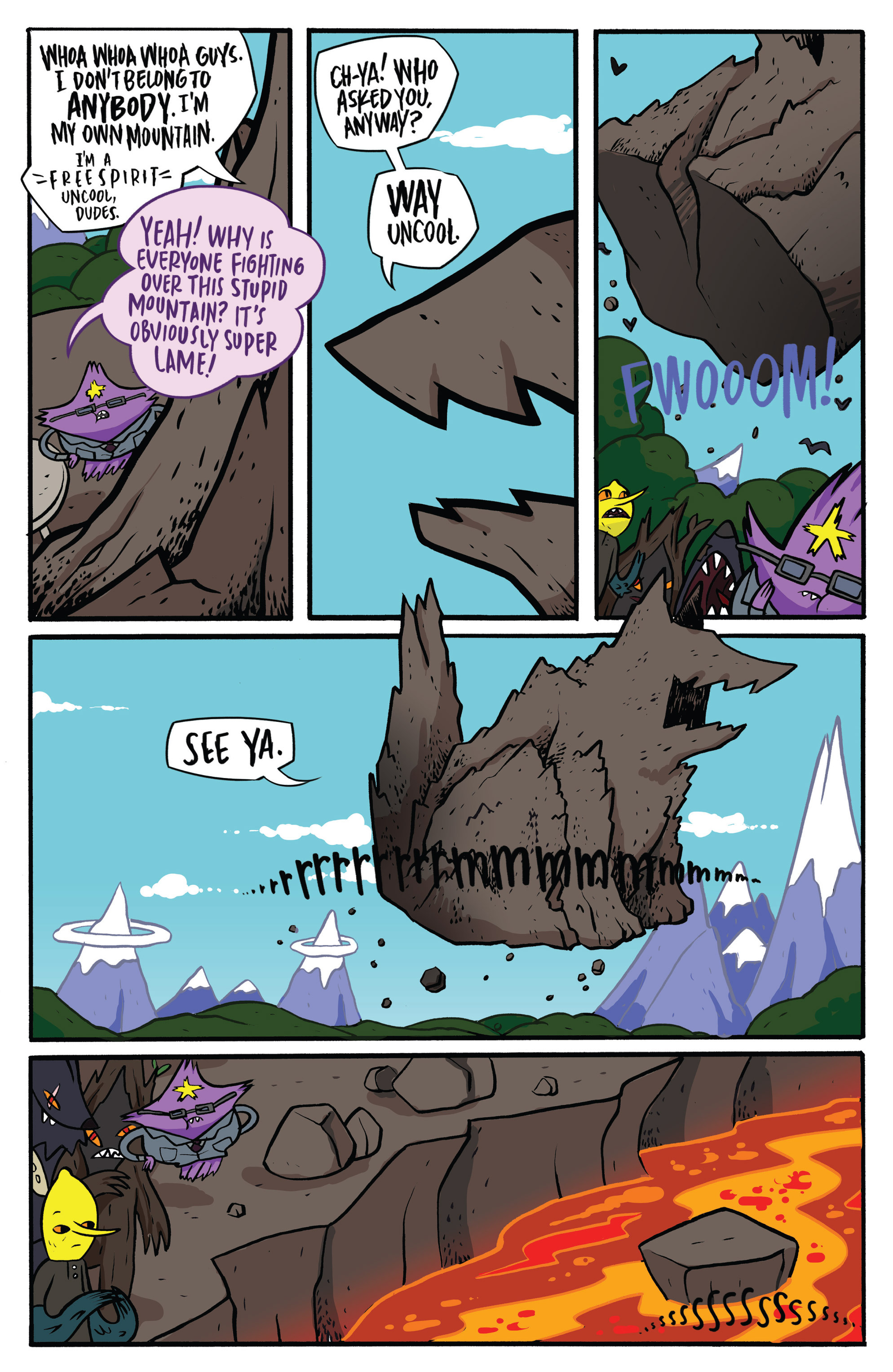 Read online Adventure Time: Candy Capers comic -  Issue #3 - 27