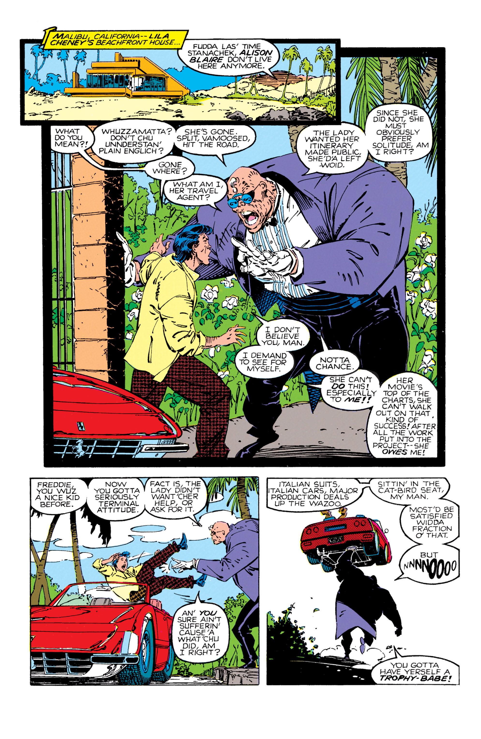 Read online Uncanny X-Men (1963) comic -  Issue #270 - 9