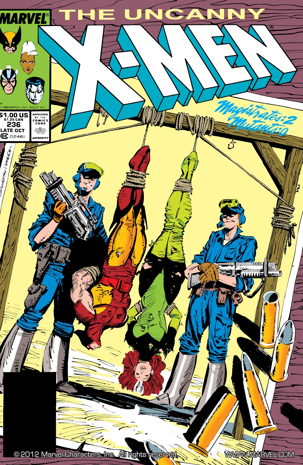 Uncanny X-Men (1963) issue 236 - Page 1