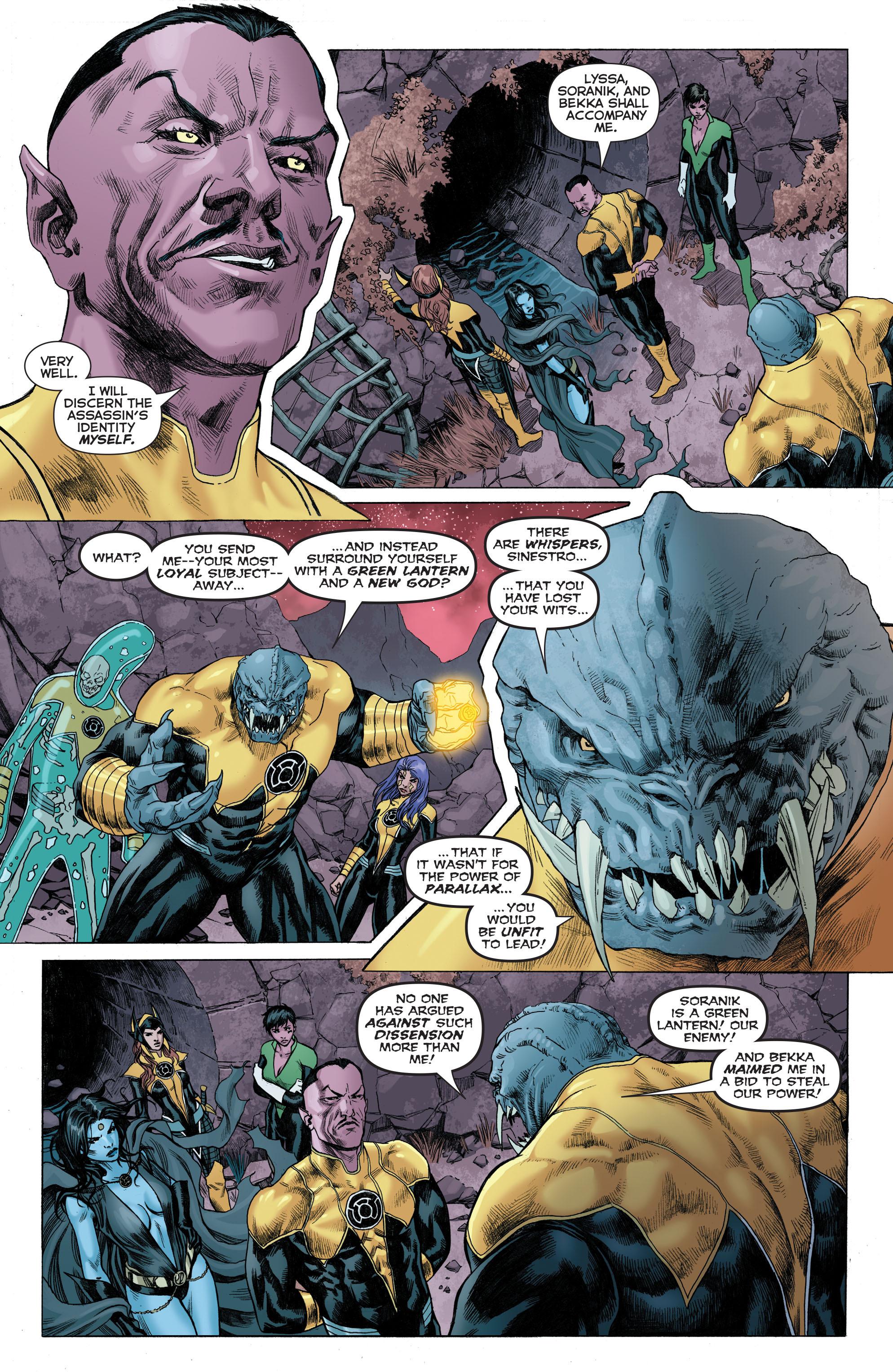 Read online Sinestro comic -  Issue # Annual 1 - 6
