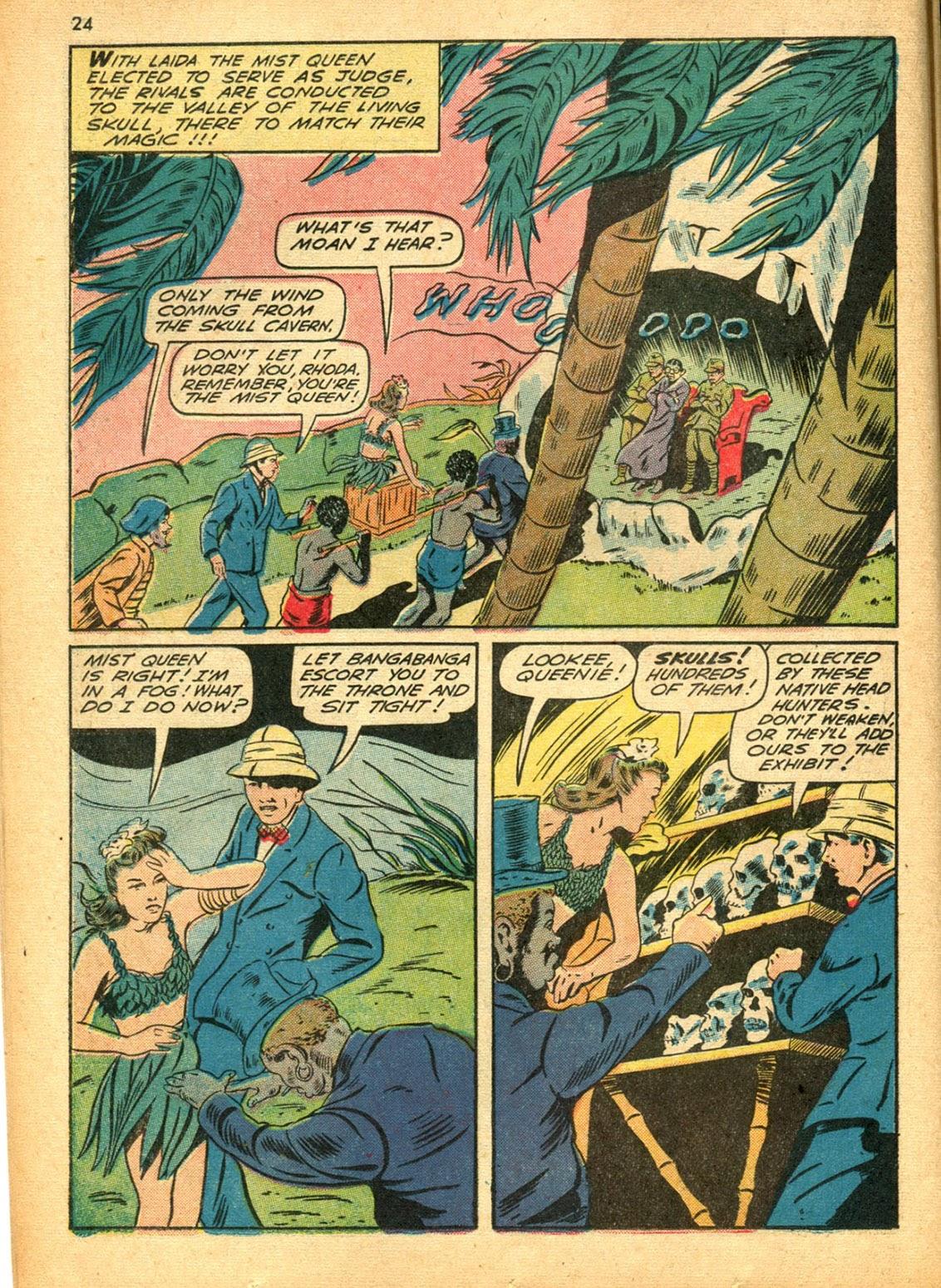 Read online Super-Magician Comics comic -  Issue #15 - 24