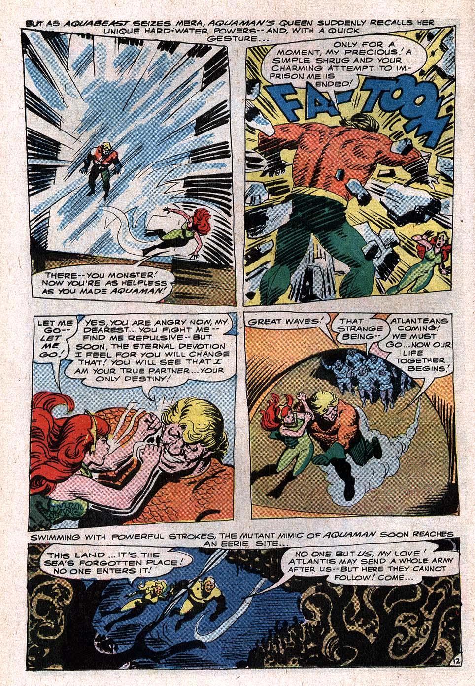 Read online Aquaman (1962) comic -  Issue #34 - 18