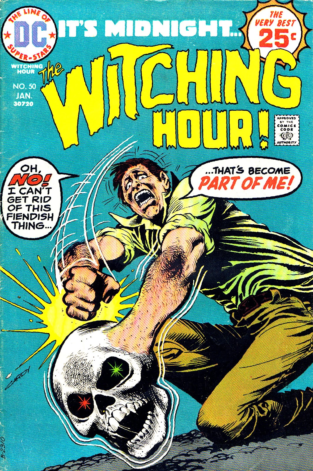 The Witching Hour (1969) issue 50 - Page 1