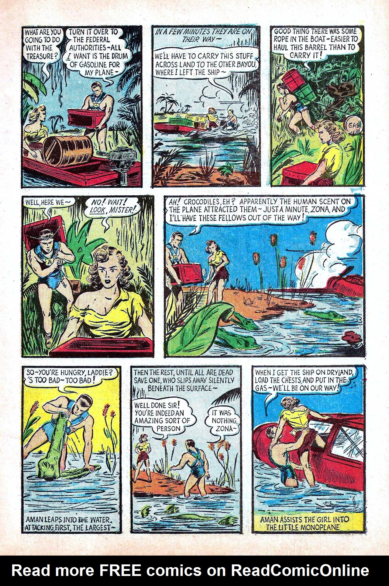 Read online Amazing Man Comics comic -  Issue #11 - 11