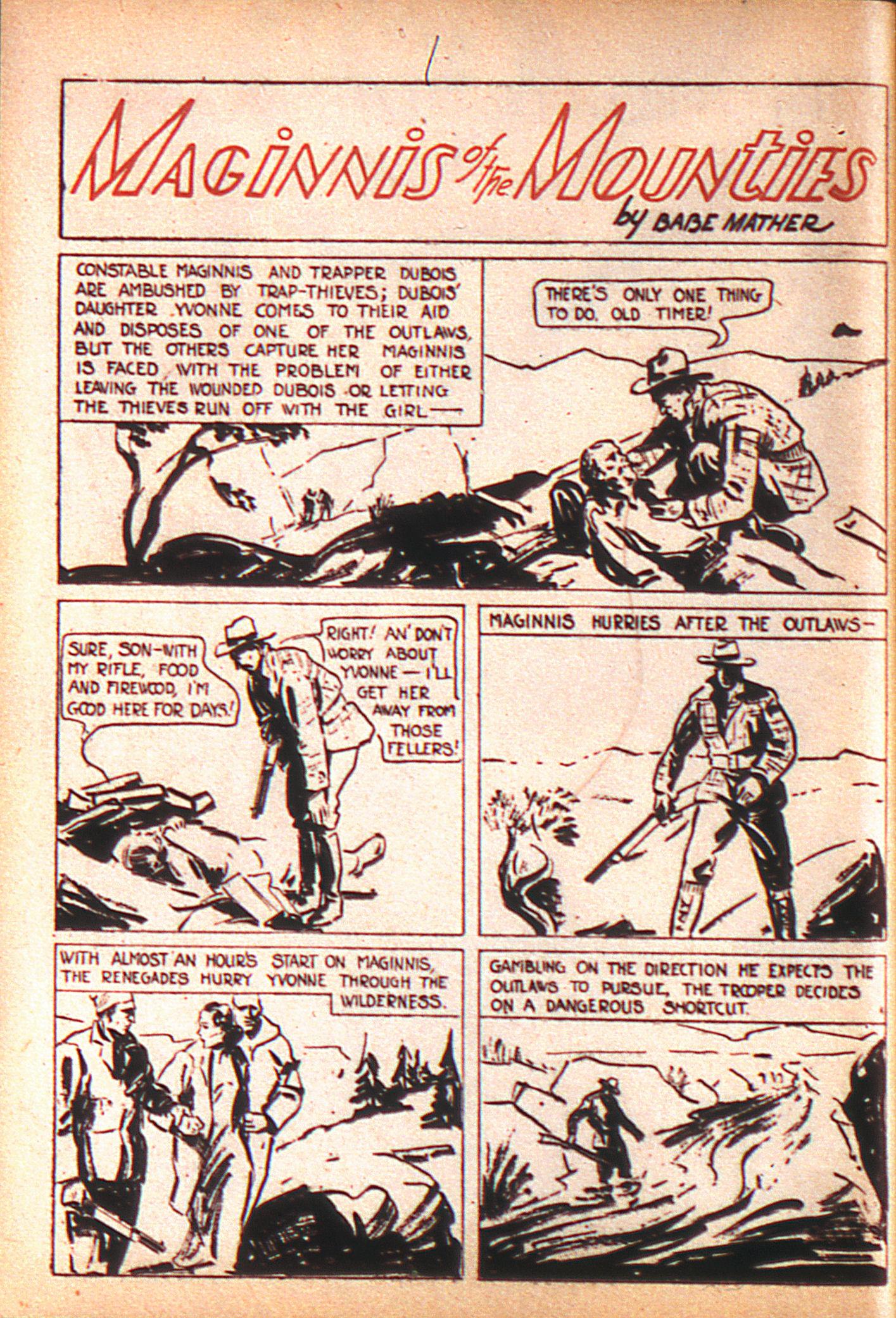 Read online Adventure Comics (1938) comic -  Issue #8 - 23