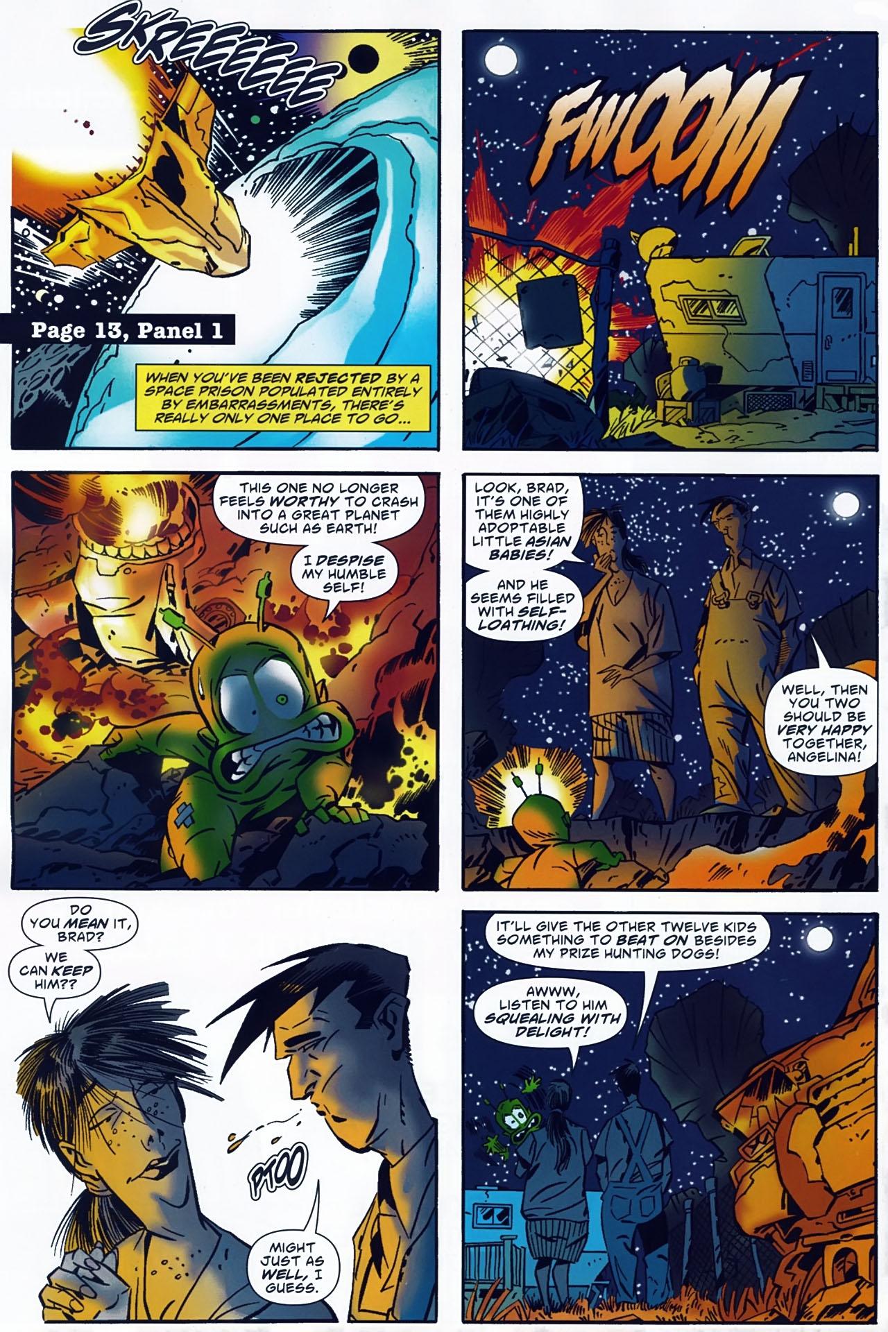 Read online Ambush Bug: Year None comic -  Issue #4 - 14