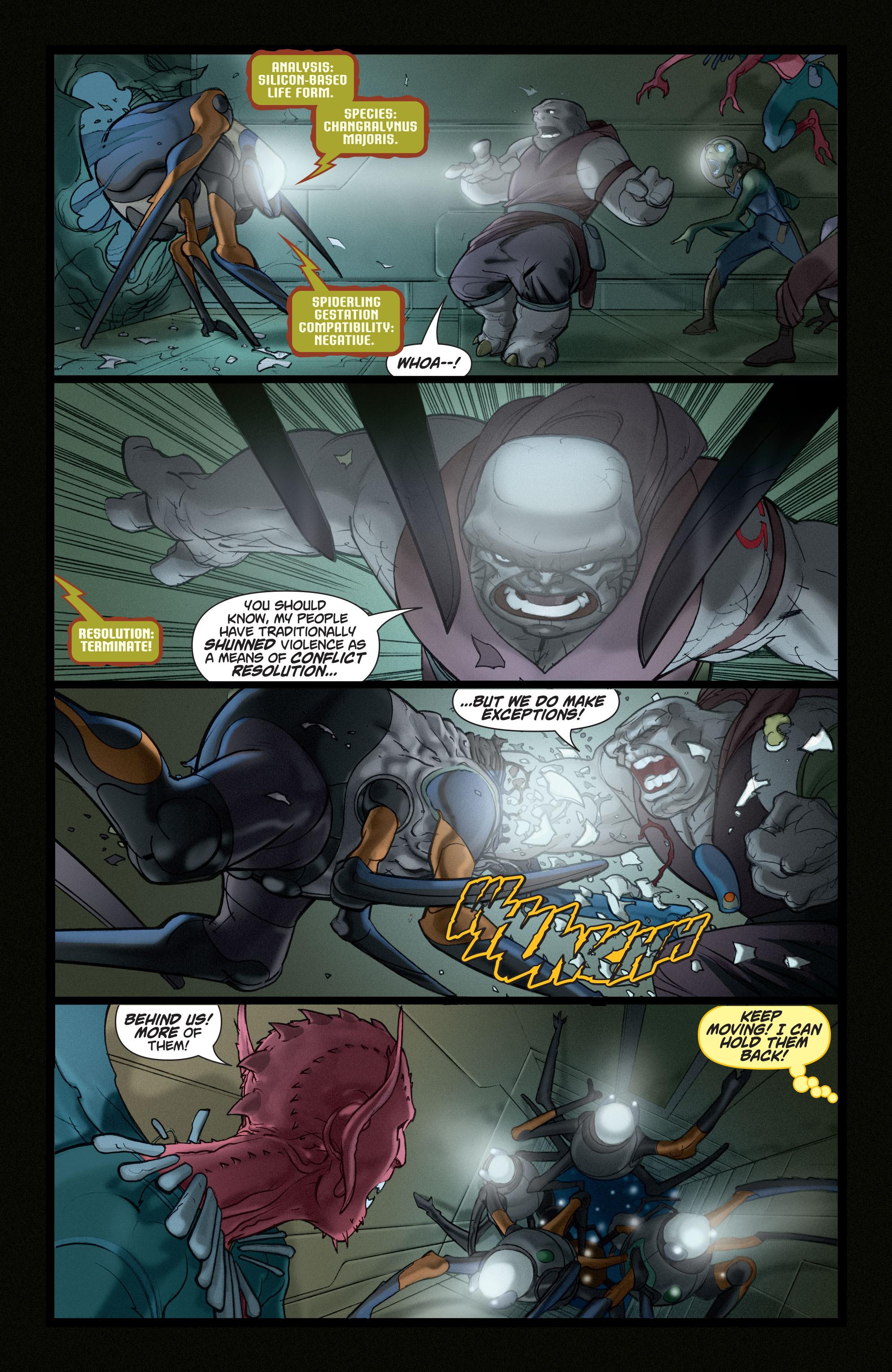 Read online Adam Strange (2004) comic -  Issue #5 - 9