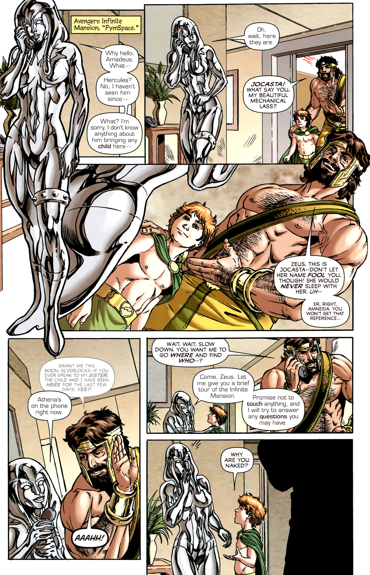Read online Assault on New Olympus Prologue comic -  Issue #Assault on New Olympus Prologue Full - 10