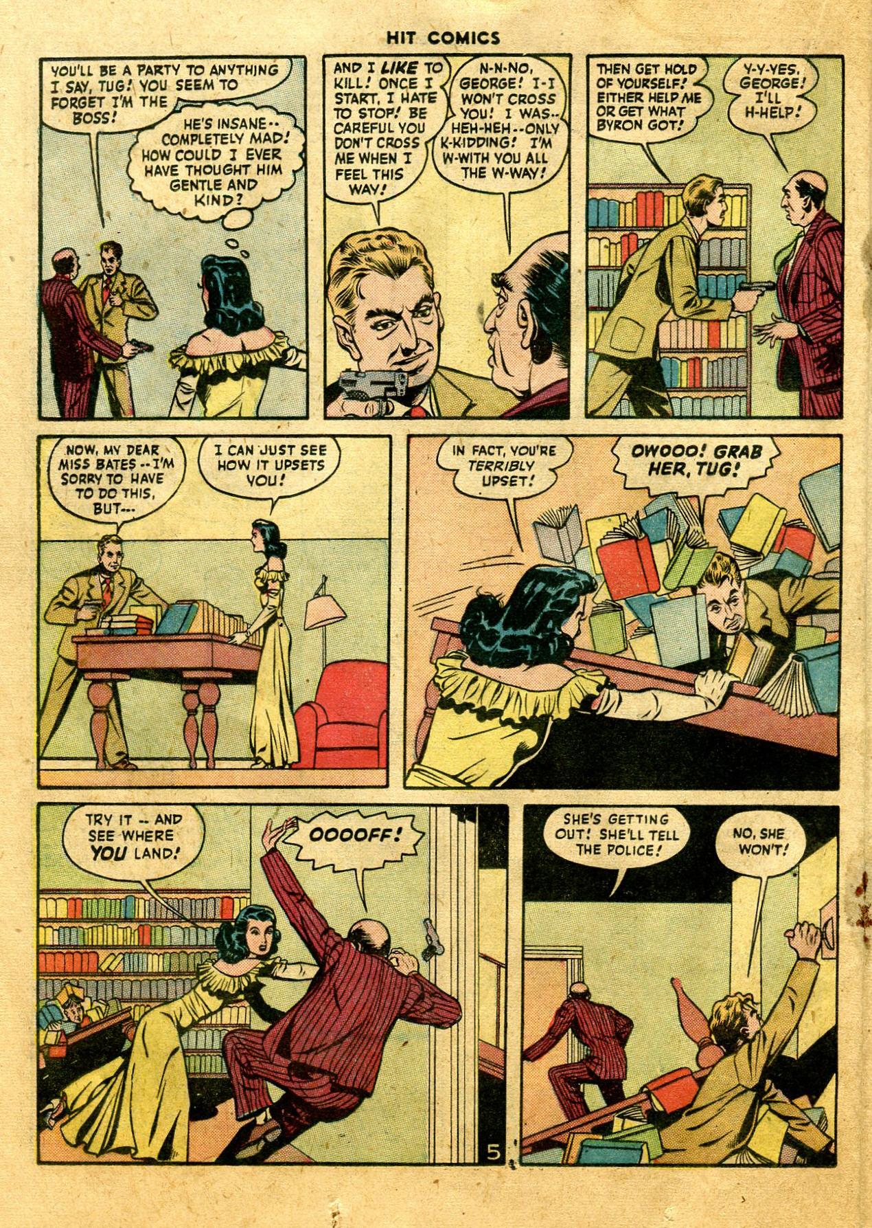 Read online Hit Comics comic -  Issue #44 - 34