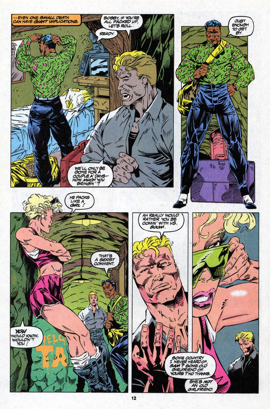 X-Force (1991) Issue #26 #31 - English 12