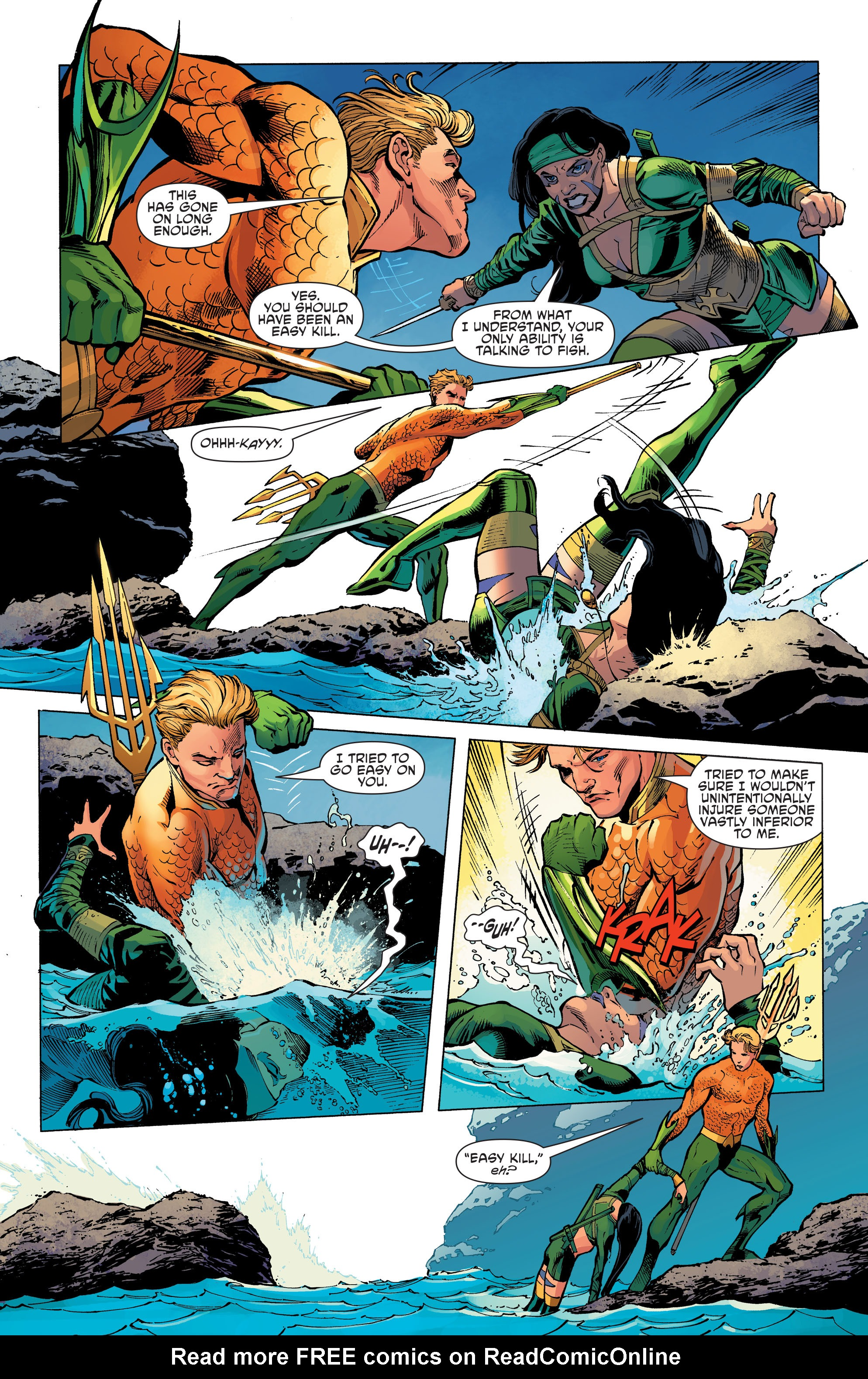 Read online Aquaman and the Others comic -  Issue #11 - 14