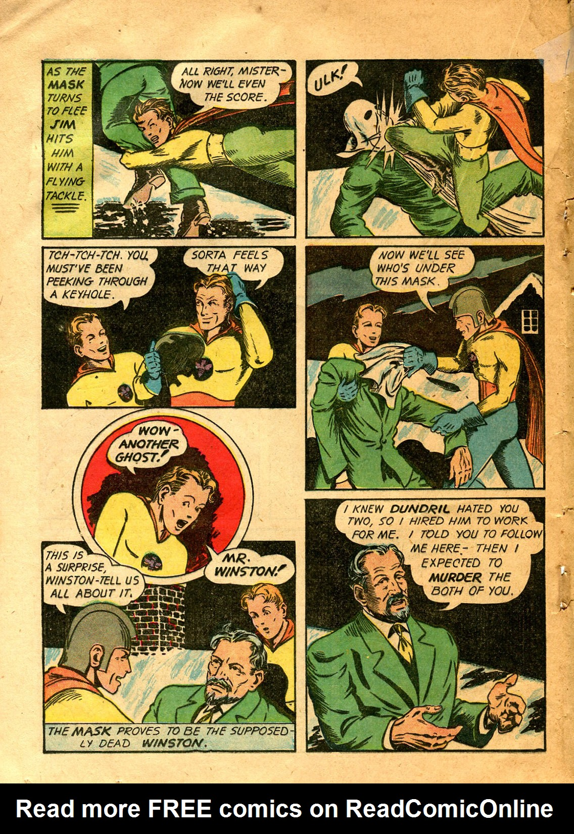 Read online Shadow Comics comic -  Issue #9 - 46