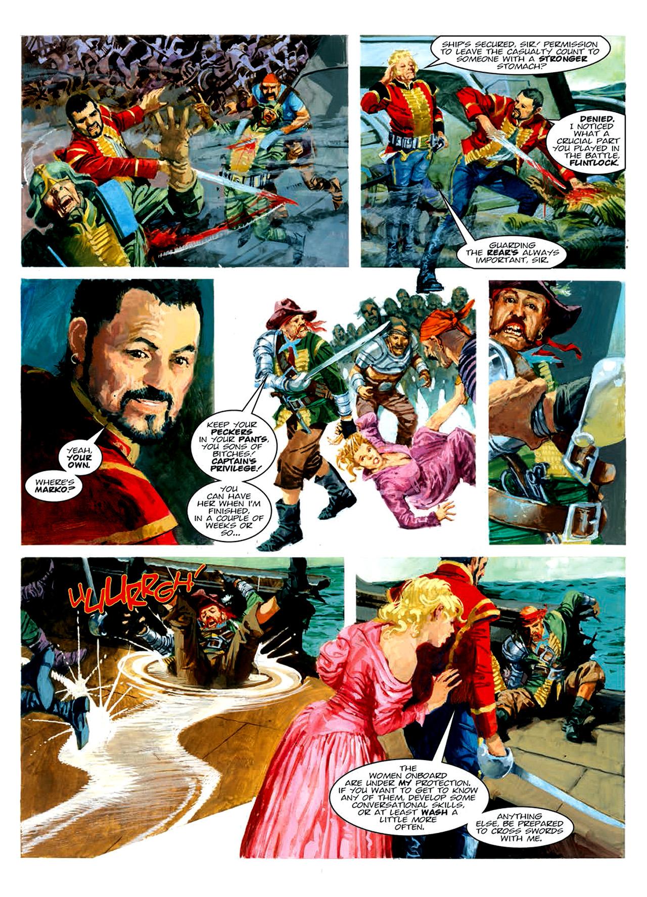 Read online Nikolai Dante comic -  Issue # TPB 6 - 147