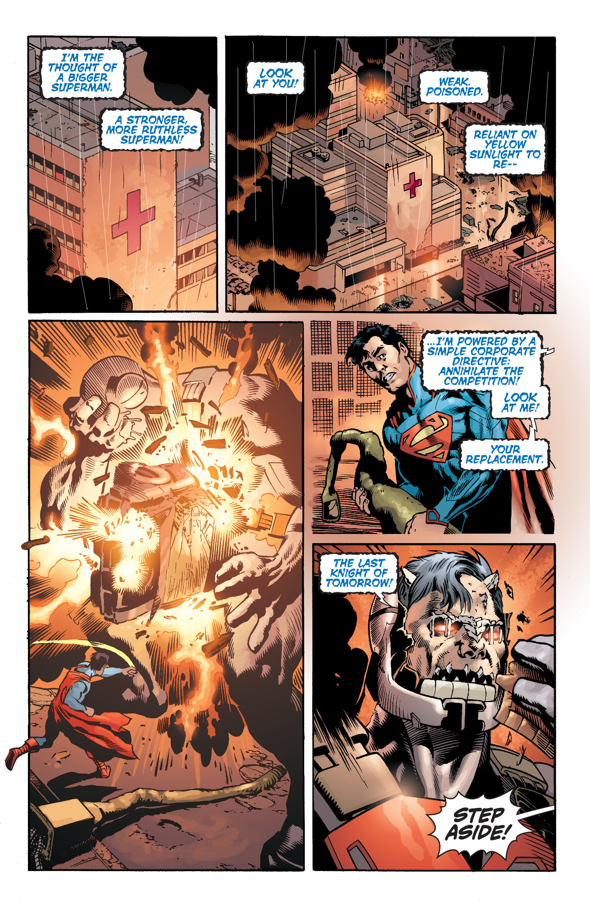 Read online Action Comics (2011) comic -  Issue #17 - 22