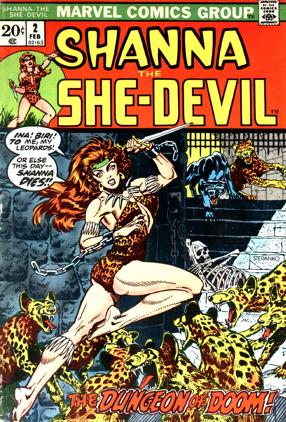 Read online Shanna, the She-Devil (1972) comic -  Issue #2 - 1