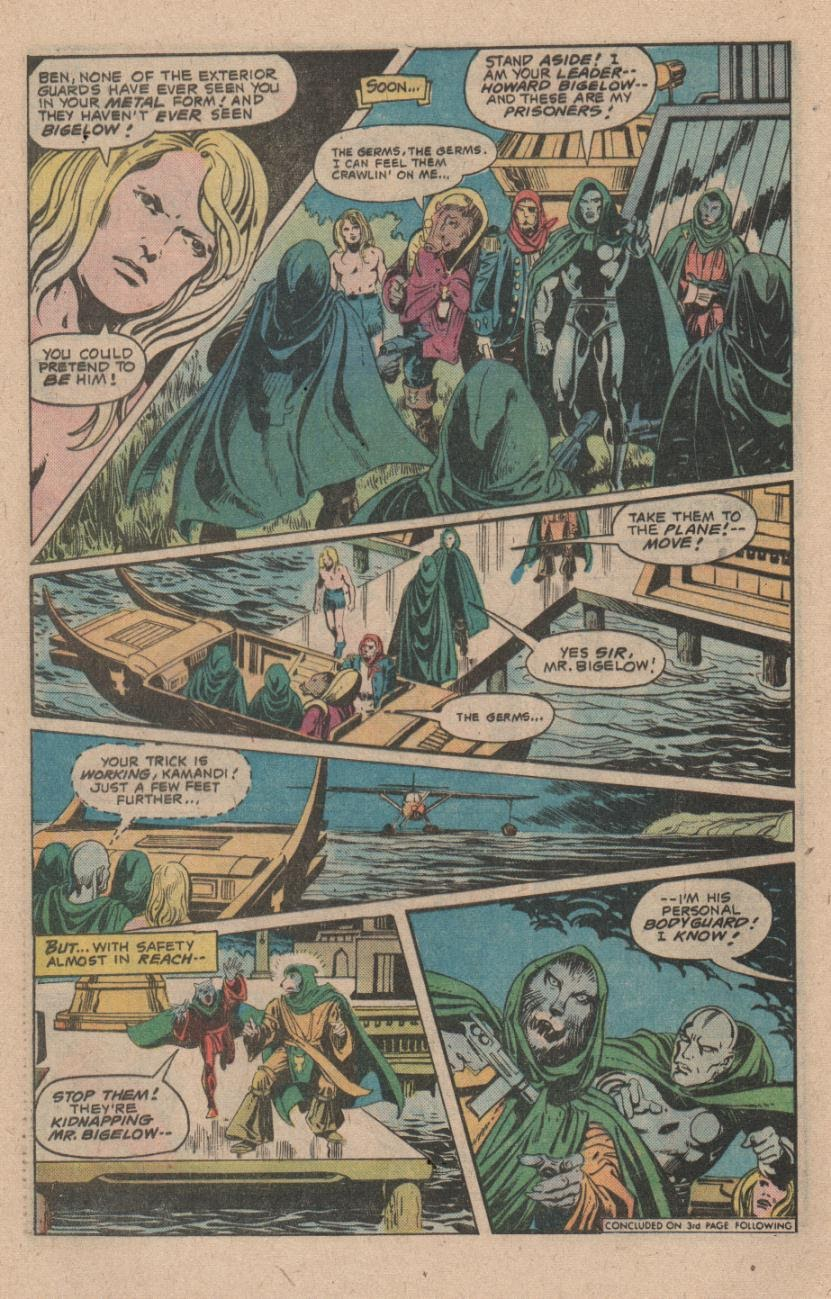 Kamandi, The Last Boy On Earth issue 47 - Page 28