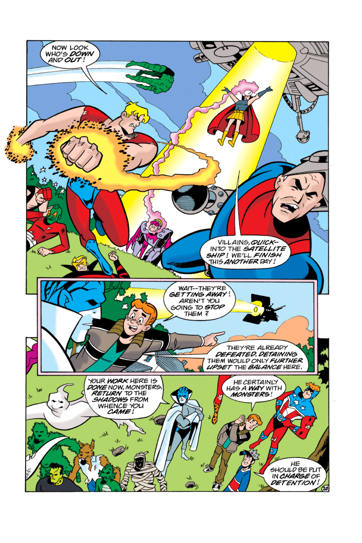 Read online Archie's Weird Mysteries comic -  Issue #3 - 21
